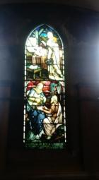 Stained glass window - Isabella Swanson